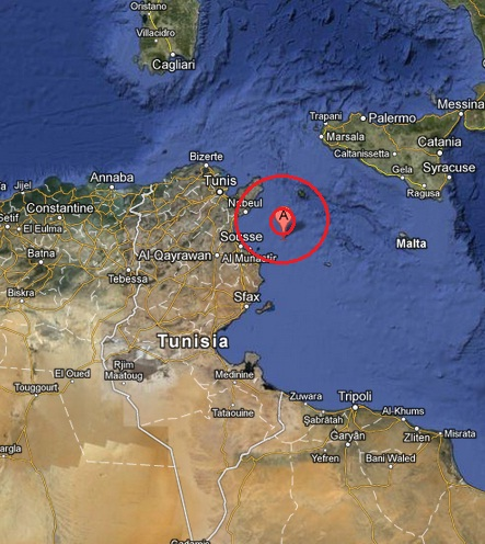 tunisia earthquake 2013 March 25