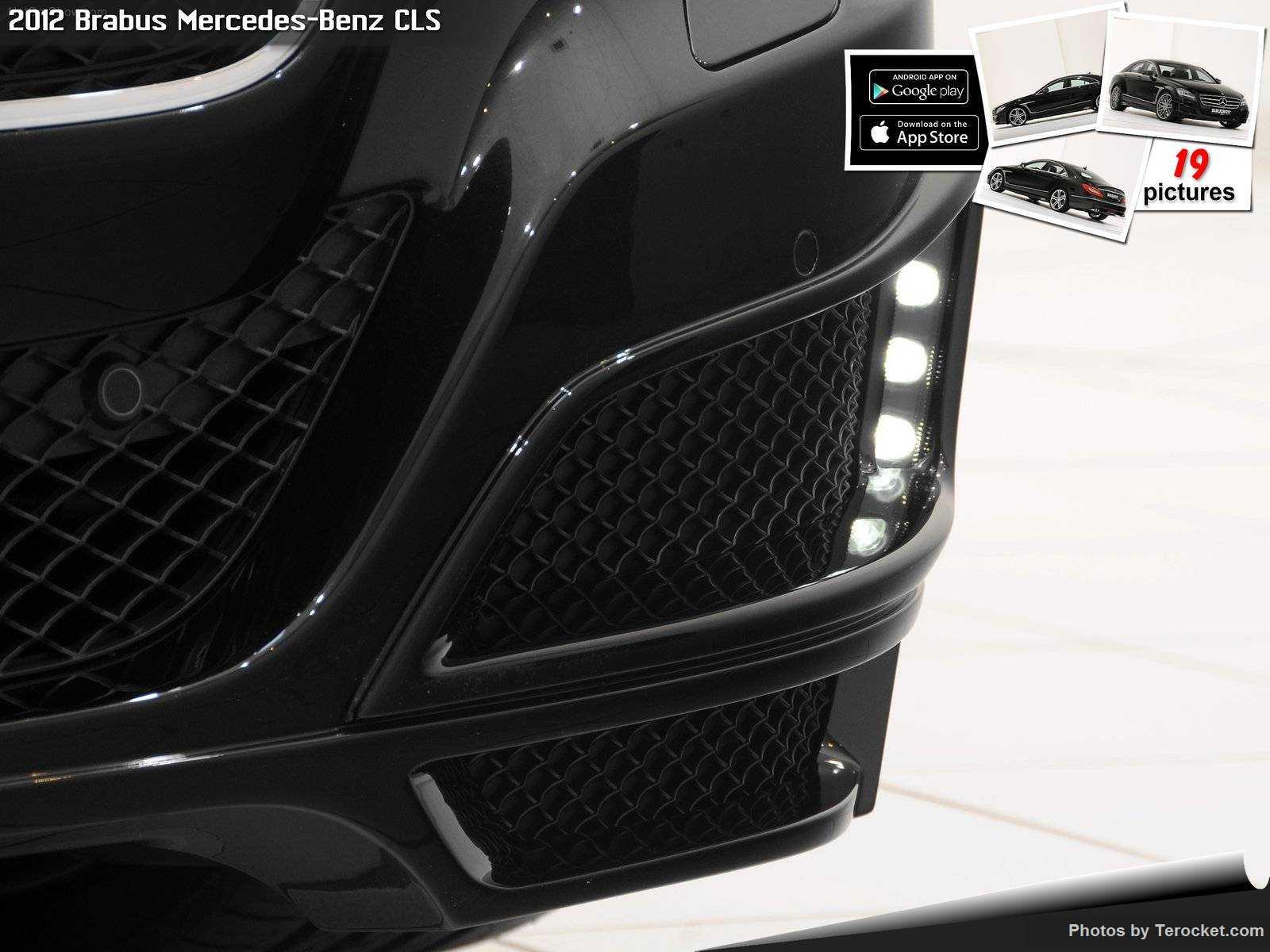 Hình ảnh xe ô tô Brabus Mercedes-Benz CLS 2012 & nội ngoại thất