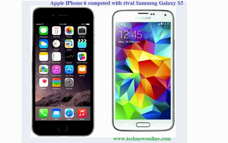Apple IPhone 6 Competed With Rival Samsung Galaxy S5