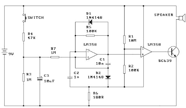 p controller block diagram world technical siren alarm circuit    diagram    usng lm358  world technical siren alarm circuit    diagram    usng lm358