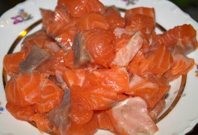 красная рыба для супа