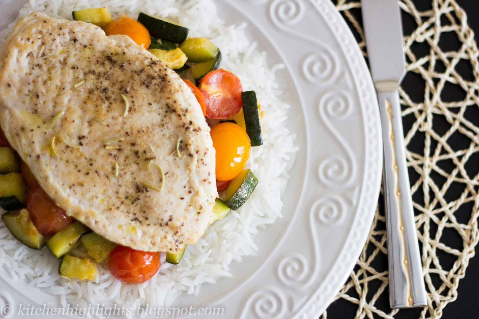 If you are looking for a delicious healthy meal, chicken with sauteed vegetables can be a wonderful option