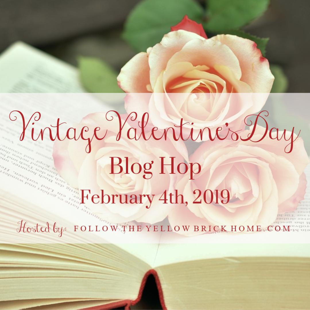 Vintage Valentines Blog Hop
