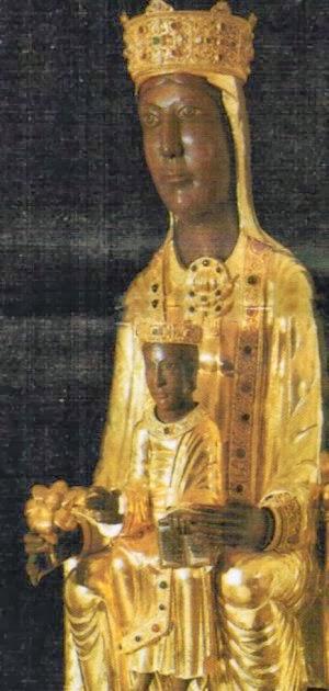 Virgen de madera de Georgia okeeffe