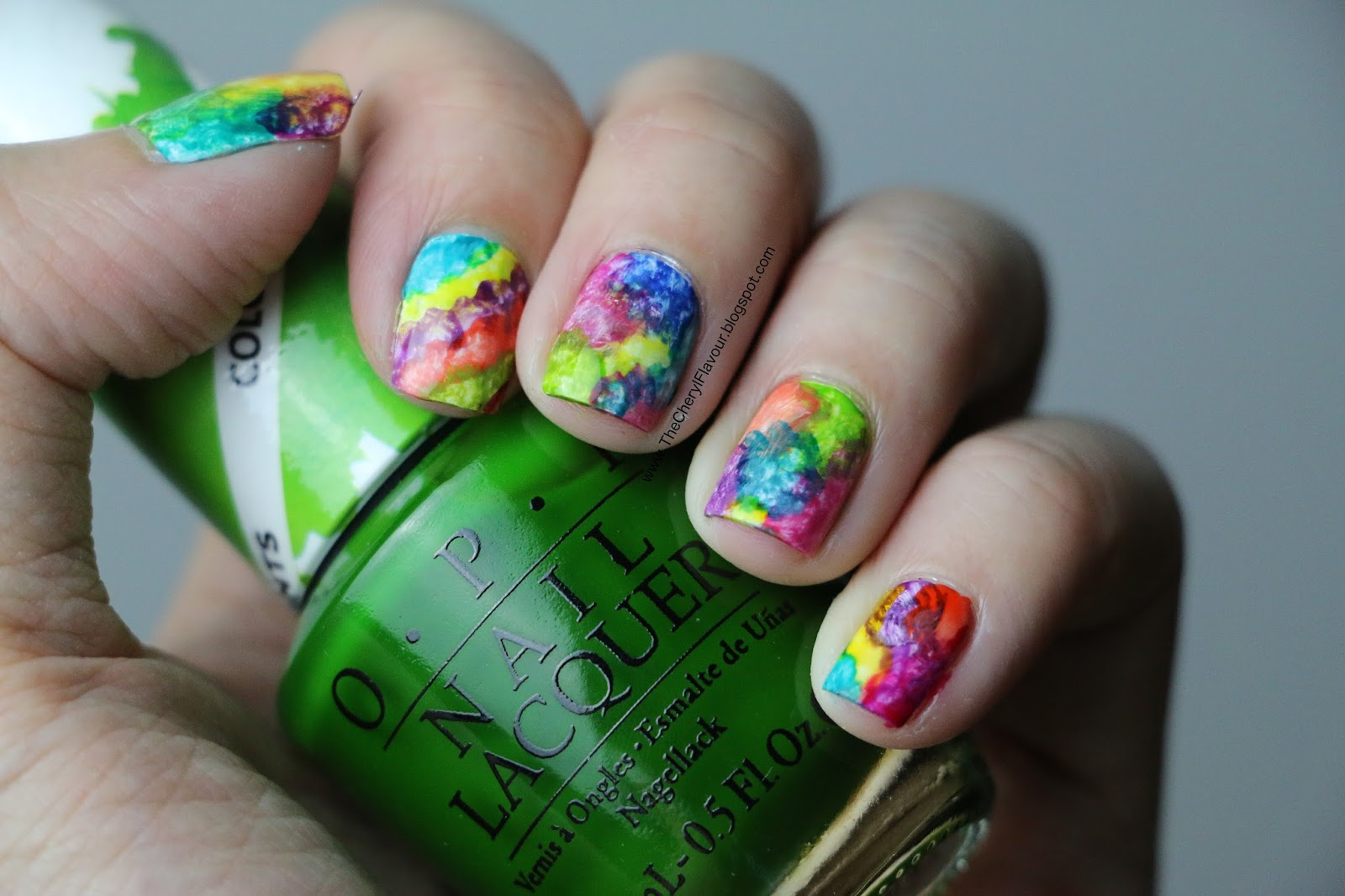 Full color nail art - Opi Color Paints Collection