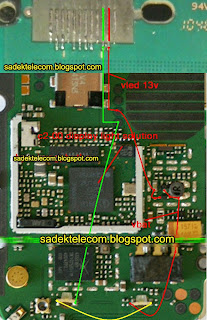 nokia c2-00 lcd light solution First Clean This motherboard and if not ok make this jumper you can solve your problem easily  Download This Picture Full Size Click  This Image.    Don't Forget Say Thanks And Share with Your Friends. Thanks For Visiting My Blog.