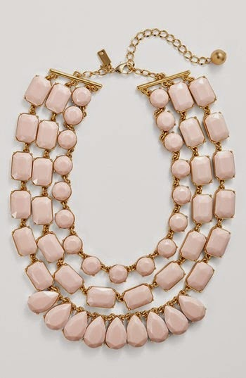 'riviera garden' stone multistrand necklace