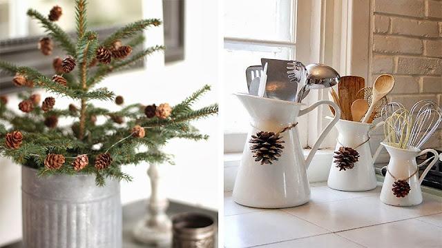Deco la cocina en navidad virlova style - Decoracion cortinas cocina ...