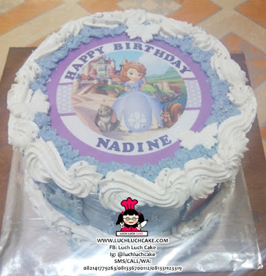 Kue Tart Sofia The First Edible Cake