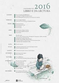 CALENDARIO DO LIBRO E DA LECTURA 2015