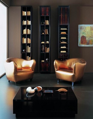 [Interior with golden armchairs]