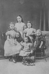 Lillias McPherson (top) with sisters
