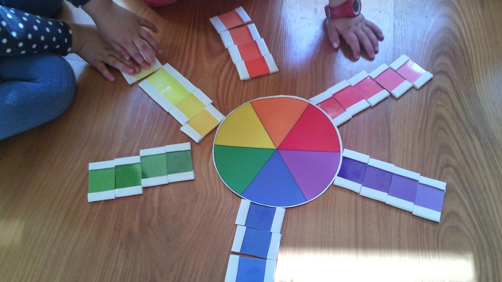 Actividades para el primer ciclo de educaci n infantil for Caja de colores jardin infantil
