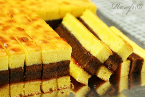 Resep Untuk Membuat Kue Lapis Surabaya ---Berikut ini adalah Resep ...
