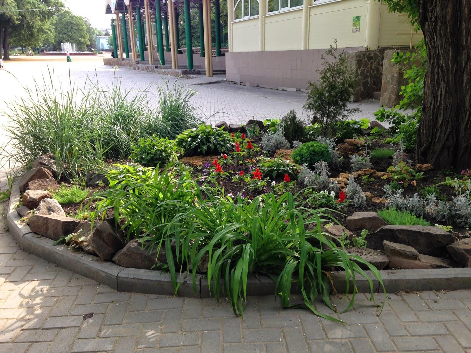 Газон-в-парке