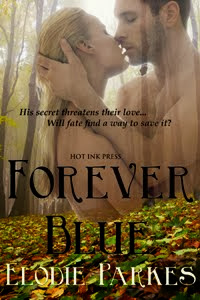 Forever Blue.  Erotic fantasy romance from Hot Ink Press currently on .99 sale