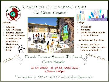 CAMPAMENTO  DE  VERANO  TAINO  2011