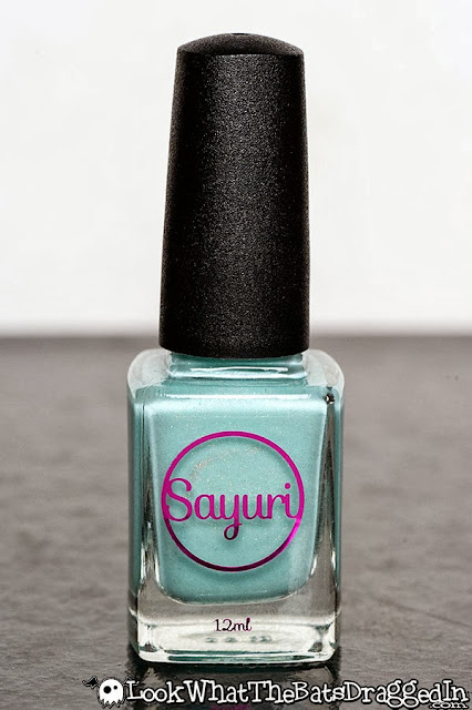 Sayuri nail lacquer polish swatch holographic candied visions
