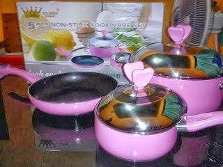 jual alat masak modern amc queen cookware set murah