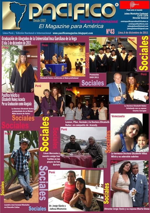 Revista Pacífico Nº 43 Social Internacional