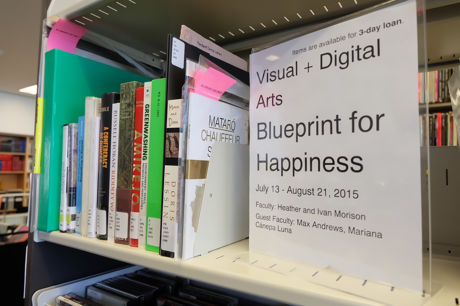 Latitudes blog latitudes publications and others from the reading list of the blueprint for happiness thematic residency featured shelf at the banff library malvernweather Images