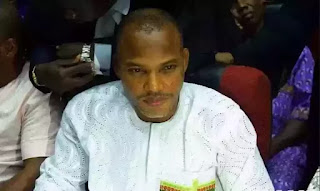 A member of the prosecuting team said Kanu could be tried in absentia