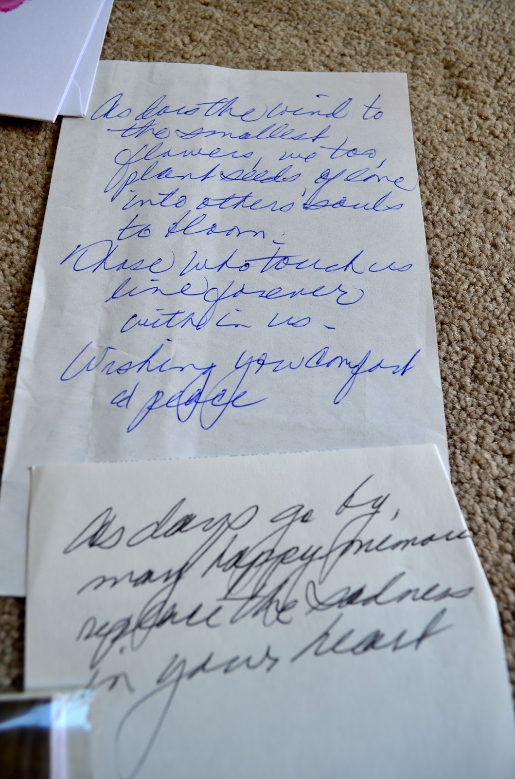 Notes from Grandma
