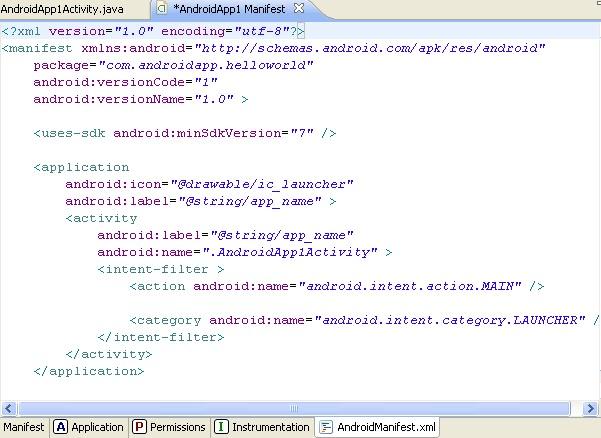 Android_Manifest_XML