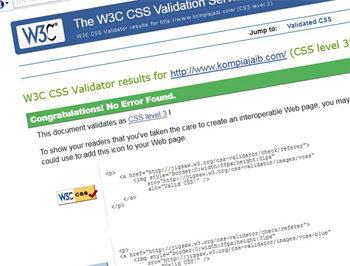Cara Melakukan Validasi CSS3