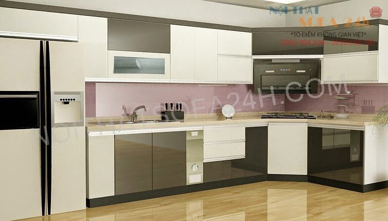 Tủ bếp TB017