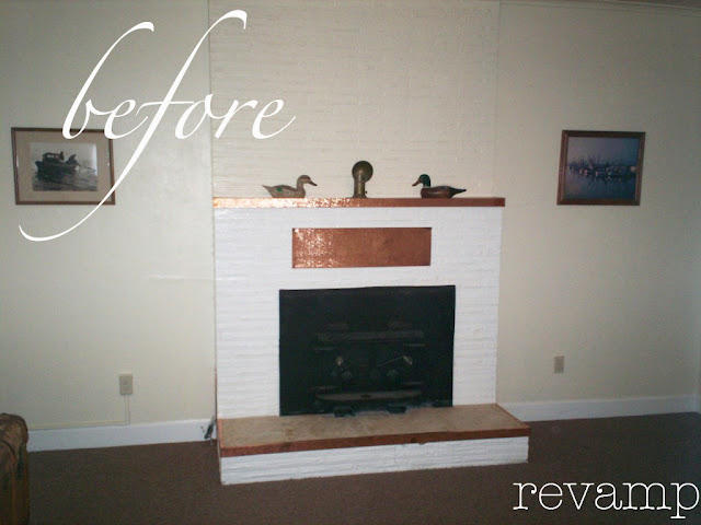 Half Wall with Fireplace 640 x 480