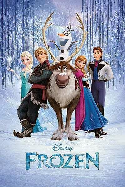 Poster Frozen El Reino de Hielo