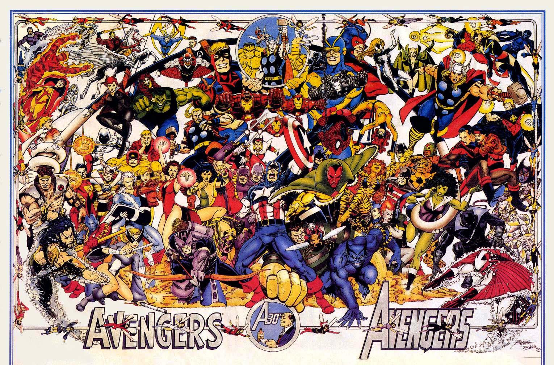 your avengers avengers comic vine