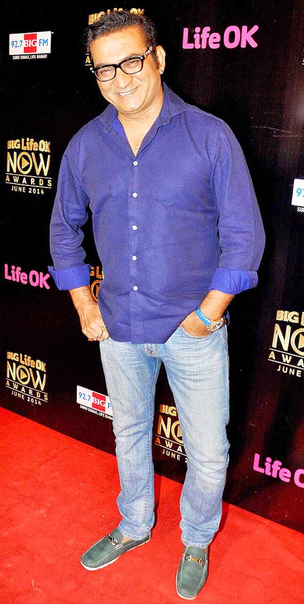 Abhijeet Singh At Life Ok Now Awards 2014