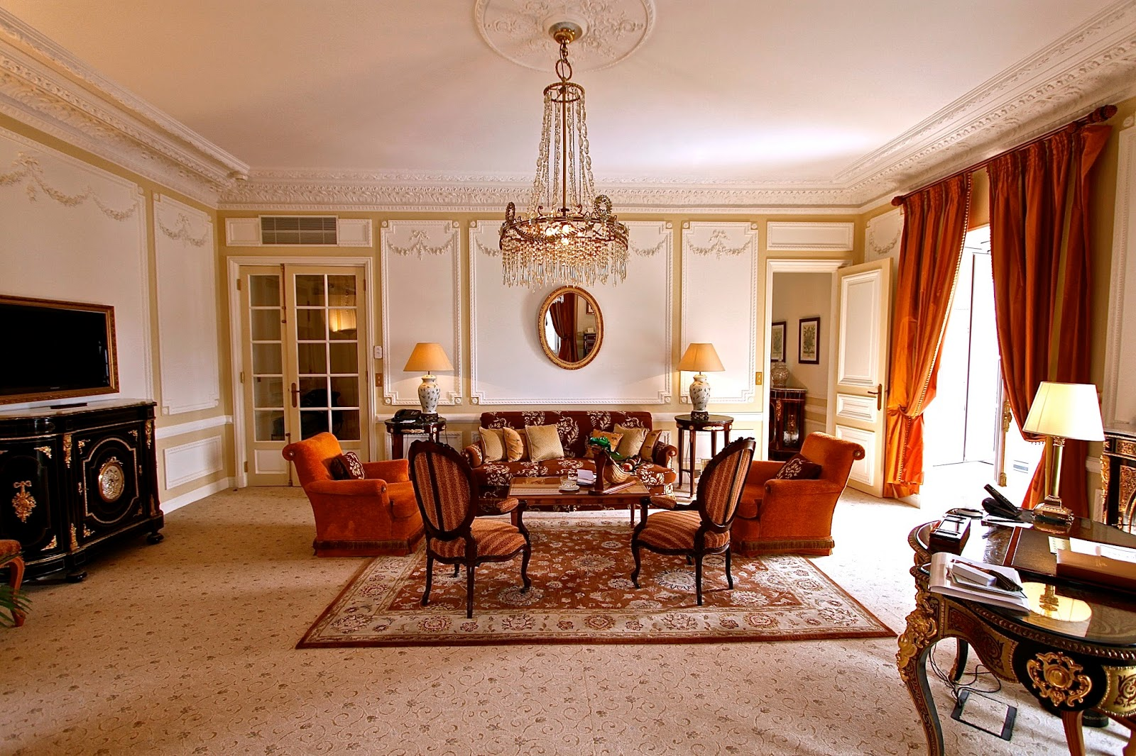 louis xv living room furniture
