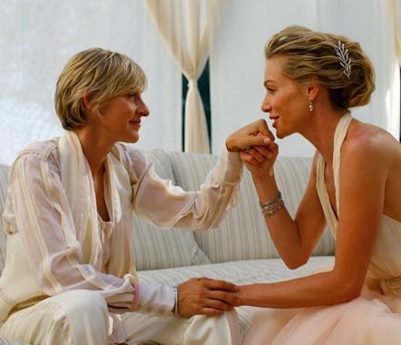 True Love Ellen DeGeneres Portia de Rossi Ellen Portias Wedding