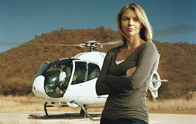 CBS News correspondent Lara Logan