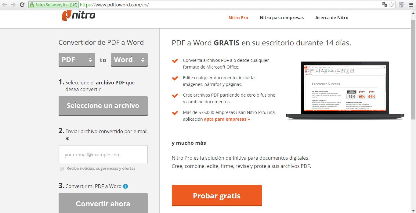 passer un doc pdf en word