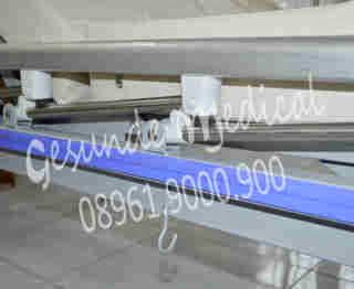 spesifikasi ranjang acare 2 crank hcb 7031r