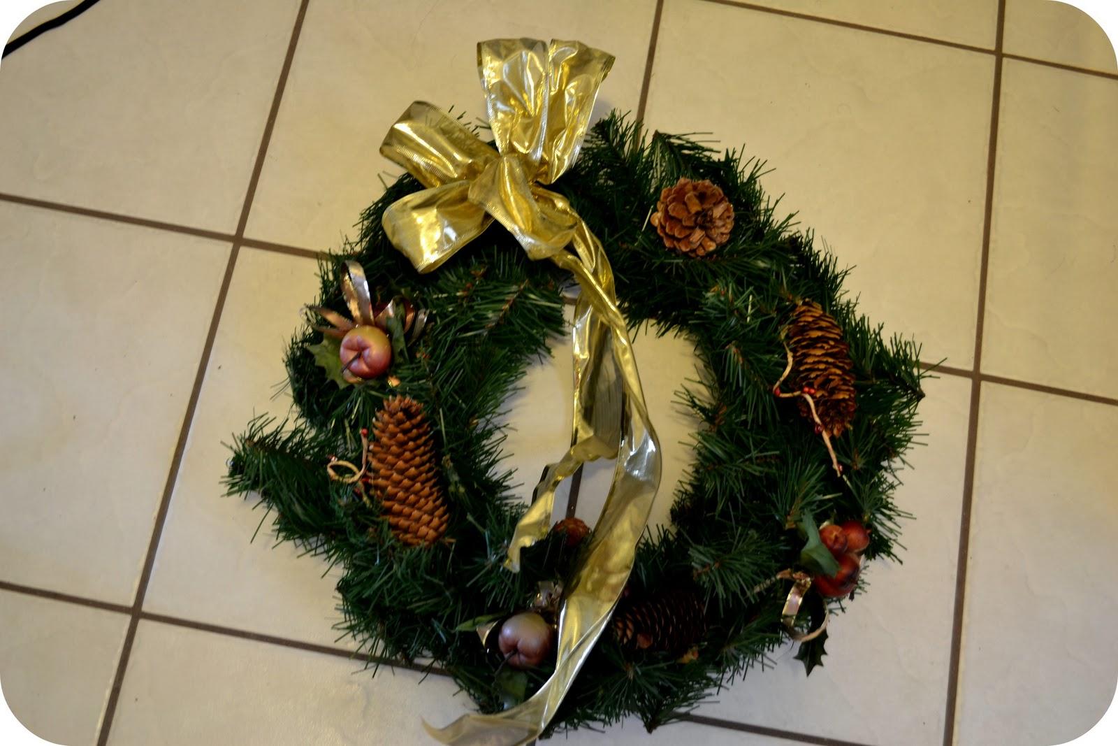 The sparacino chronicles christmas deco mesh wreath tutorial christmas deco mesh wreath tutorial baditri Images