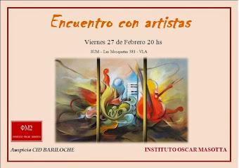Encuentro con artistas