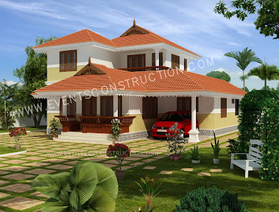 New 3d Kerala House Designs