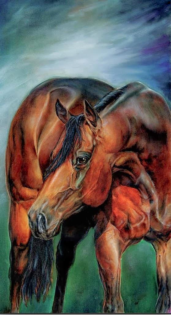 retratos-de-caballos-pinturas-al-oleo