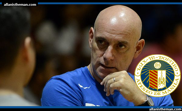 UAAP: Tab Baldwin officially named Ateneo's new head coach