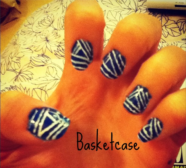 Wah nails sleek chic i love this book so much and i have attempted most of the nail art designsim no wah nail artist though sadly here is one of my attempts of their prinsesfo Images