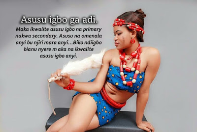 Beauty Queen Vows To End Igbo Language Extinction