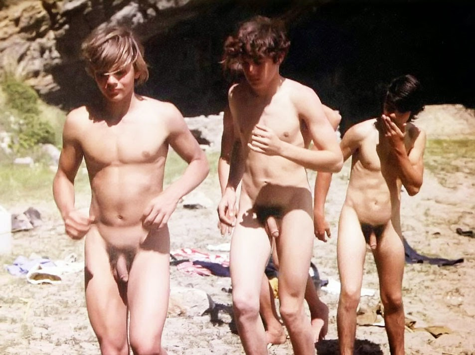 NAKED MEN ON THE BEACH | irisas business journal