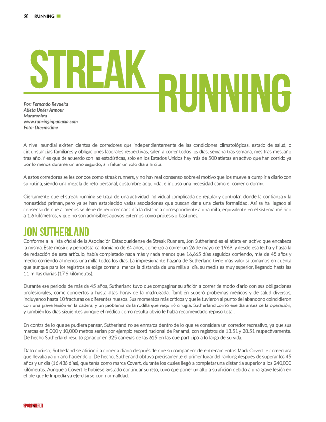 Streak Runners