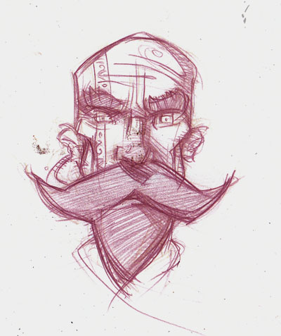 Grimm Head design © 2012 Jeff Lafferty