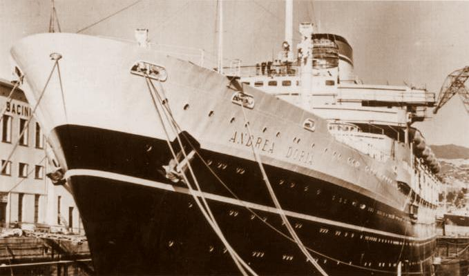 Ad maiora il naufragio dell 39 andrea doria for Andrea doria nave da guerra